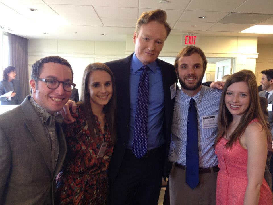 Kip and friends with Conan