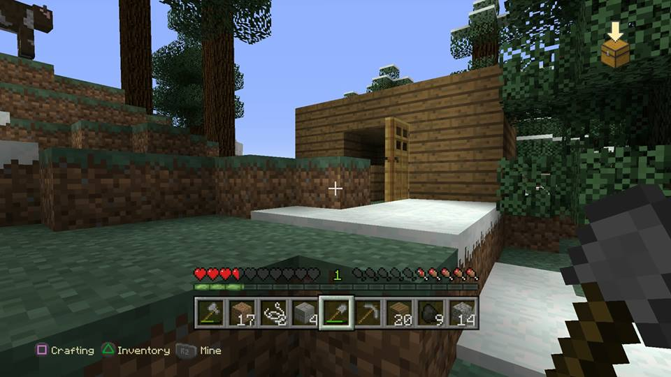 """A """"home"""" built in Minecraft"""