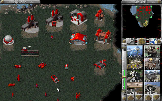 Command and Conquer: Red Alert PC UI