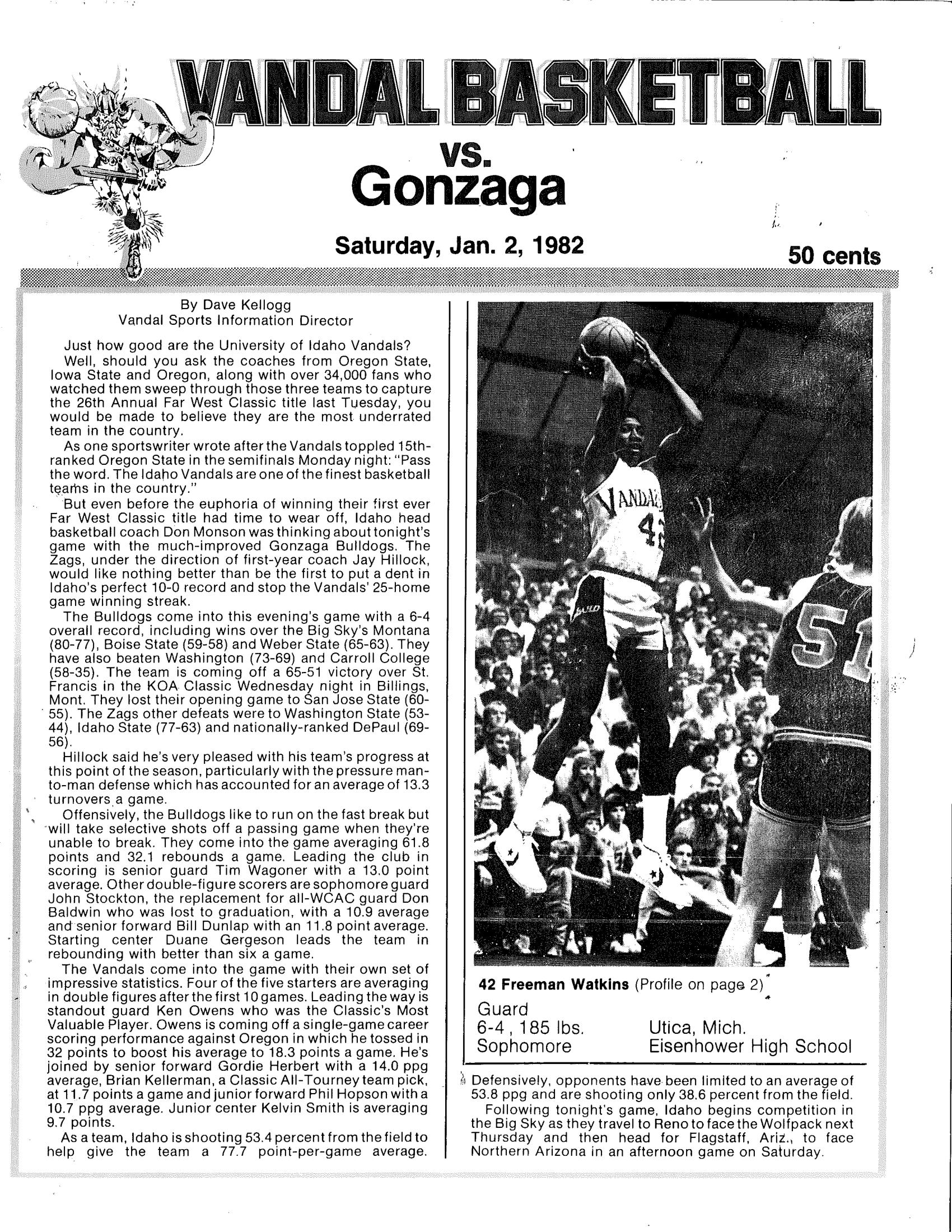 Gonzaga v. Idaho 81