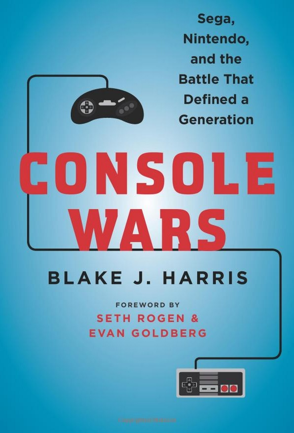 "Cover of ""Console Wars"" by Blake J. Harris"