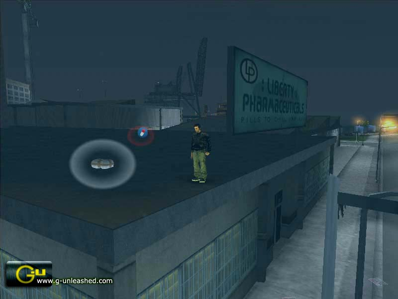A hidden package in GTA3