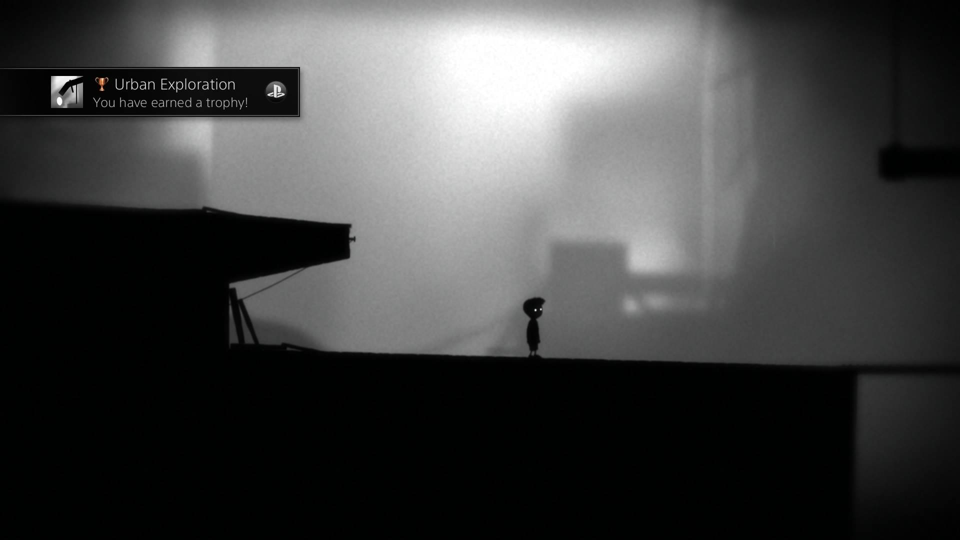 A screenshot of 'Limbo' for the Playstation 4