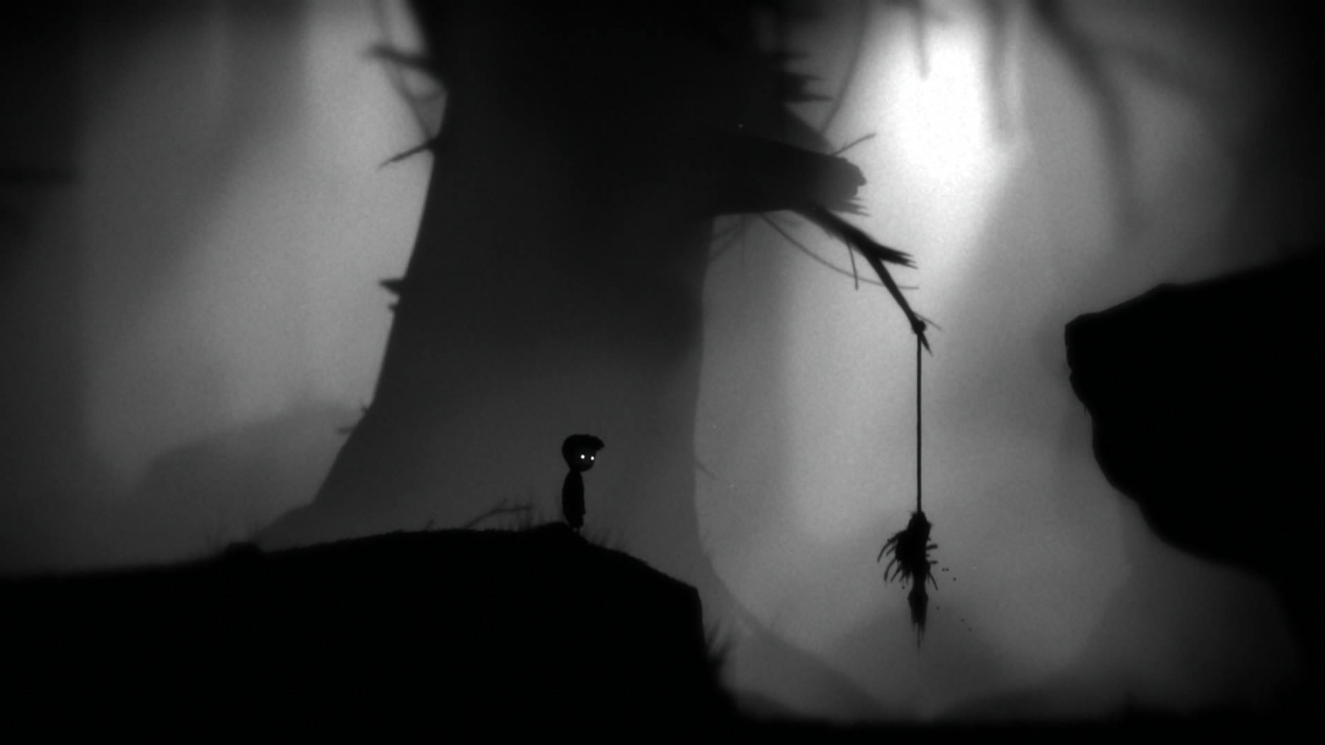 A screenshot from 'Limbo' for the Playstation 4