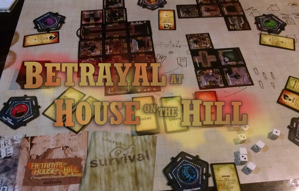 Betrayal At House on the Hill - Different every time you play
