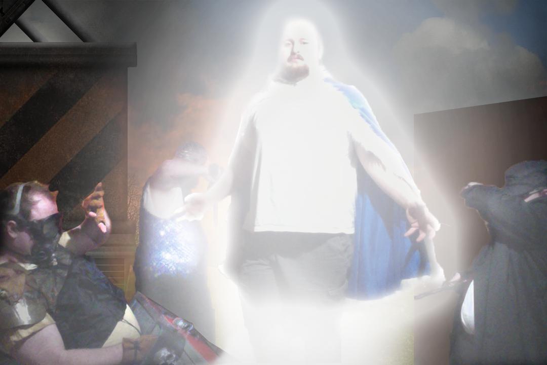Kaboom, super powers!