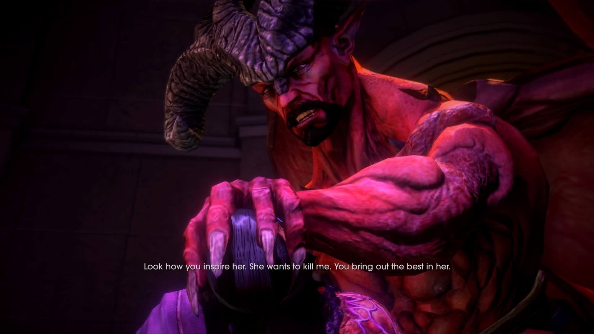 An in-game image from 'Saint's Row: Gat out of Hell'