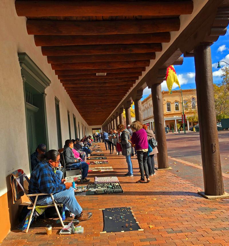 Santa Fe square shopping