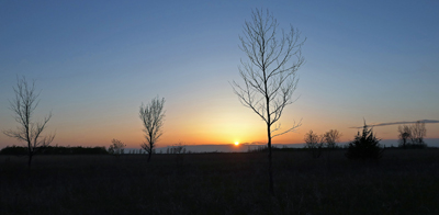 Iowa, sunset