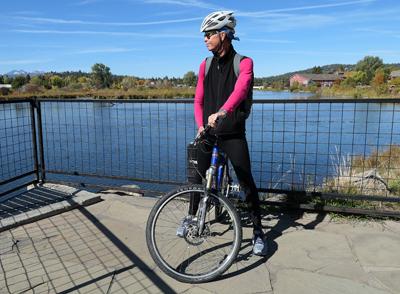 RV, Bend, Oregon, bicycle