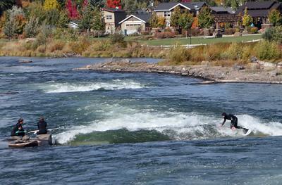 RV, Bend, Oregon, surfing