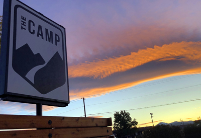 Sunset, Bend, the Camp