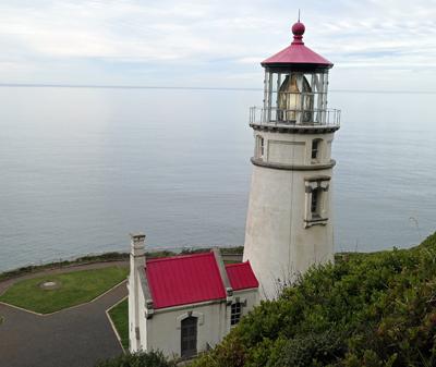 RV, Heceta Lighthouse, Oregon